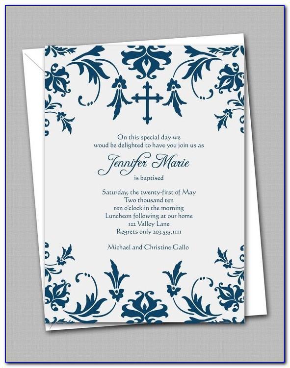 Free Printable Communion Invitation Templates