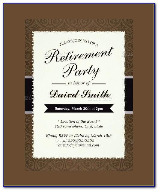 Free Printable Retirement Flyer Templates