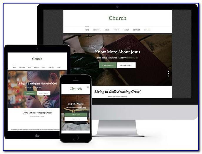Free Responsive Church Website Templates