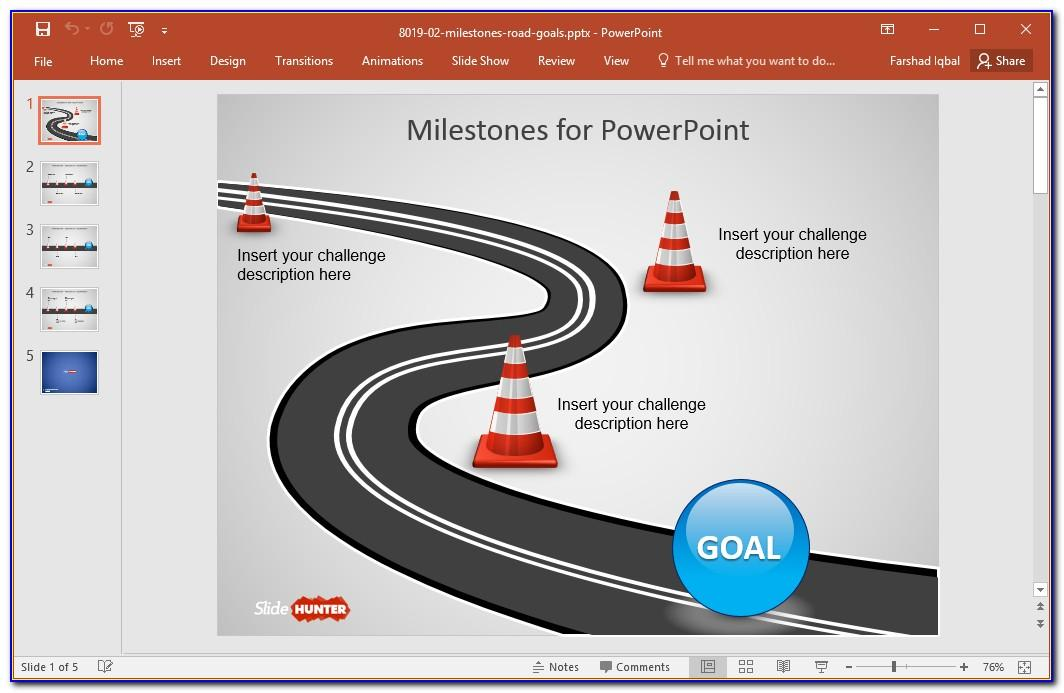 Free Roadmap Timeline Template Powerpoint
