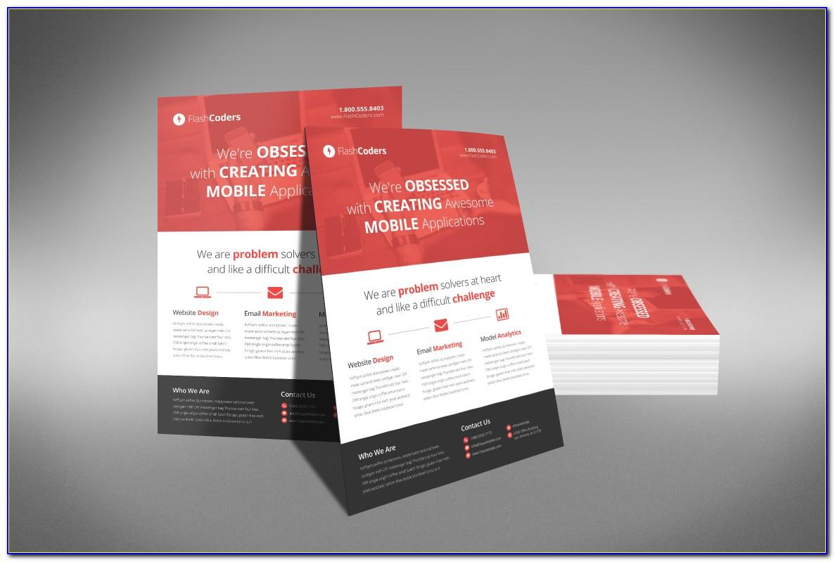 Free Template For Flyers Microsoft Word