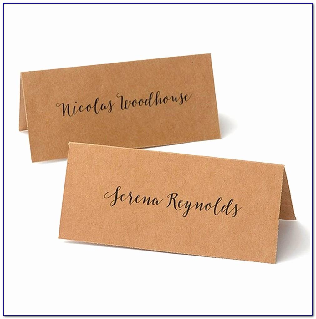 Gartner Studios Place Cards 48 Count Template
