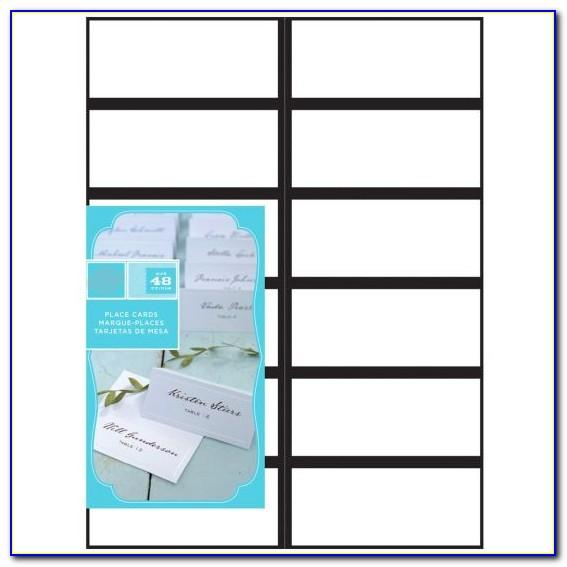 Gartner Studios Place Cards Template