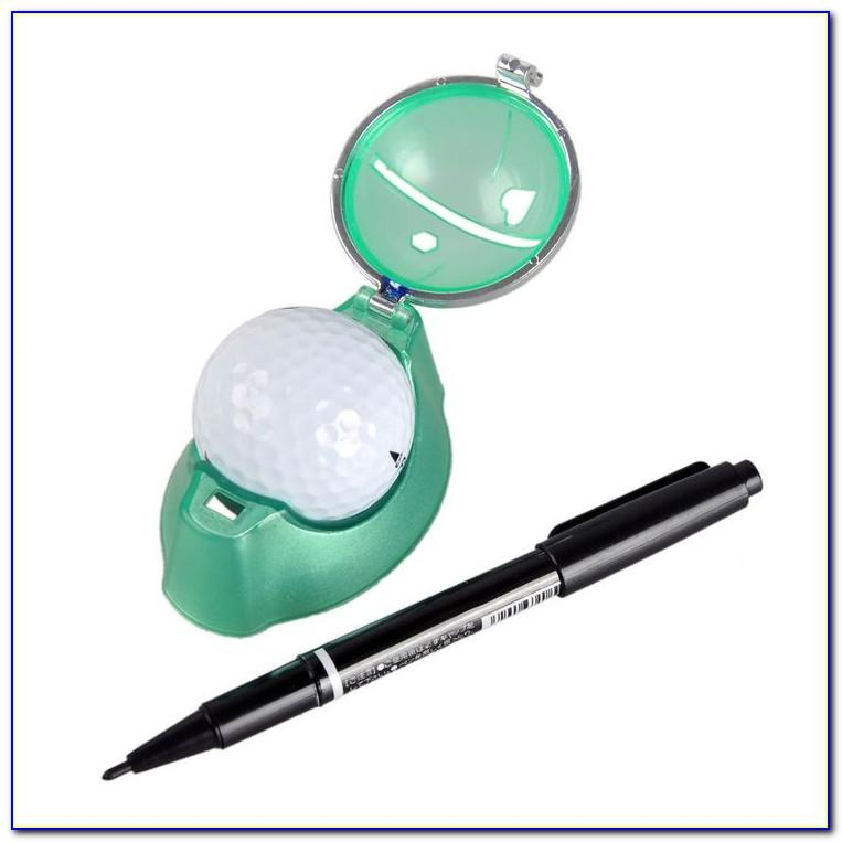 Golf Ball Marker Pen Template