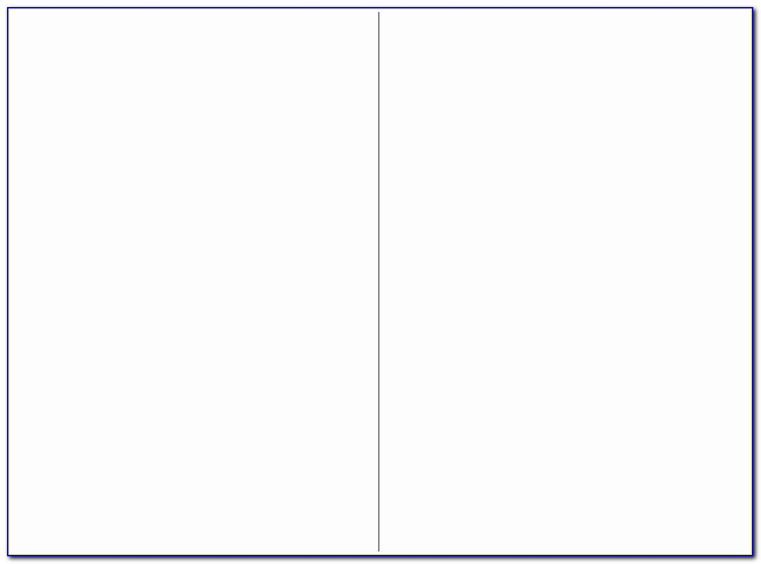 Half Fold Greeting Card Template For Publisher
