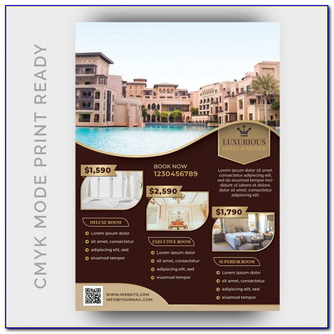 Hotel Flyer Templates Free Download