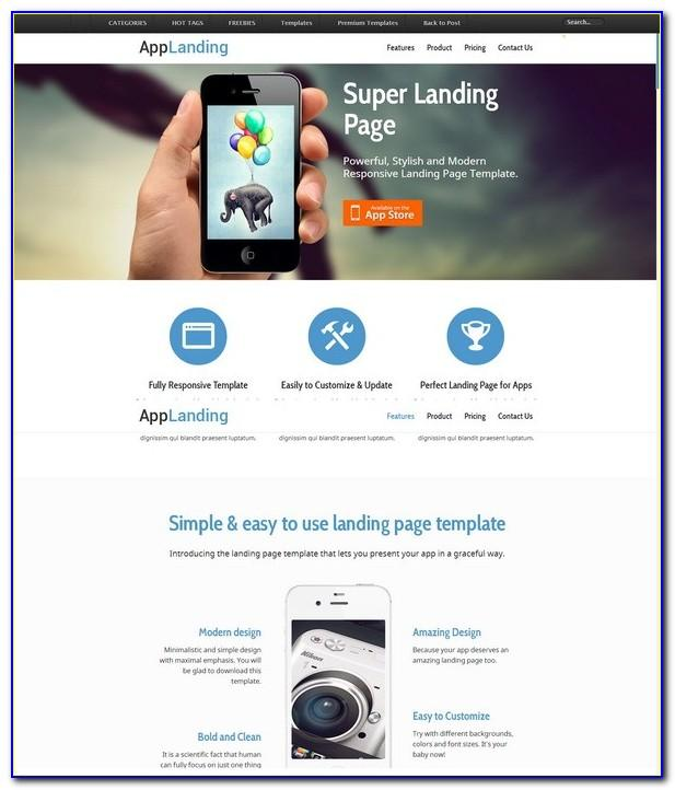 Html5 Responsive Website Template Free Download