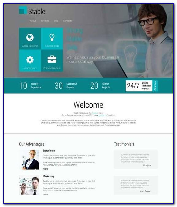 Html5 Responsive Website Templates