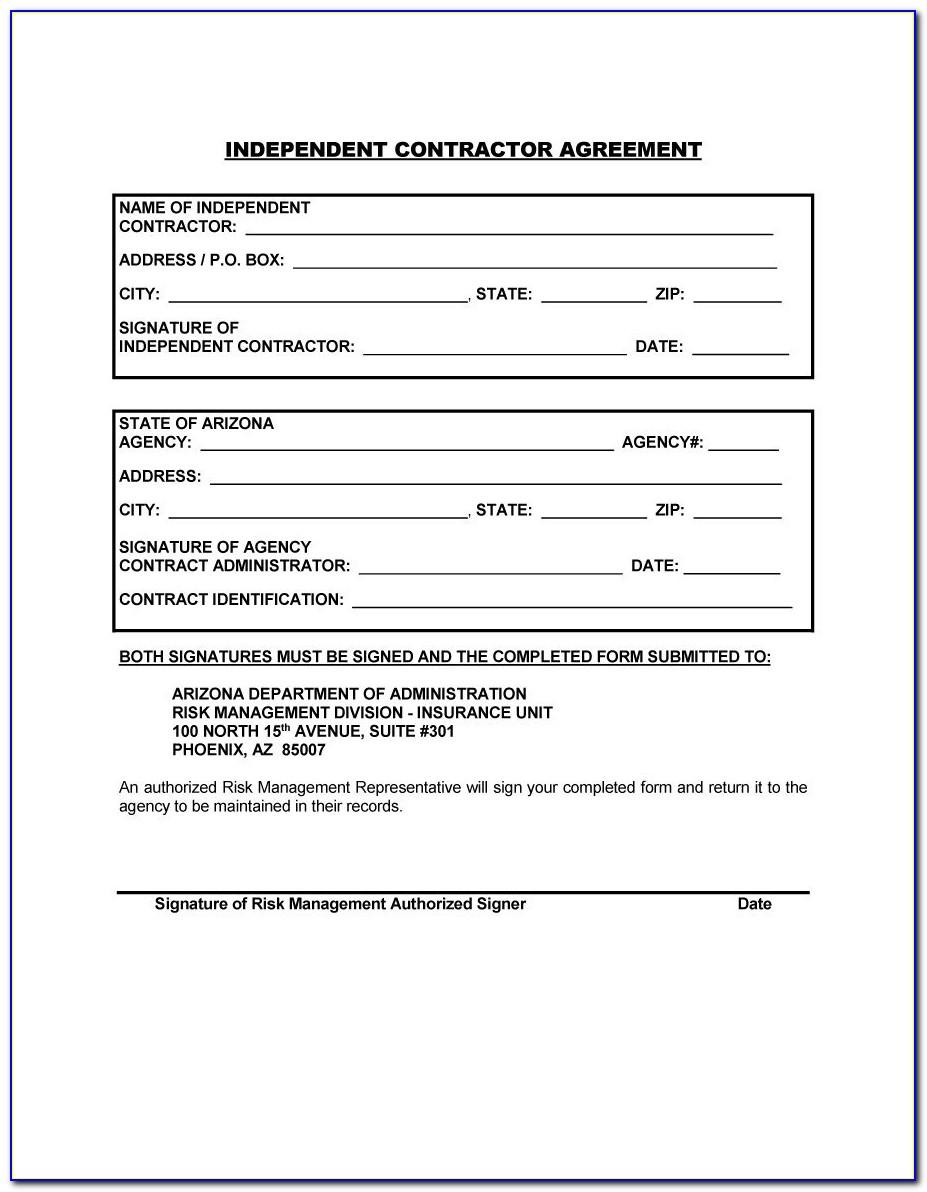 Independent Contractor Template Australia