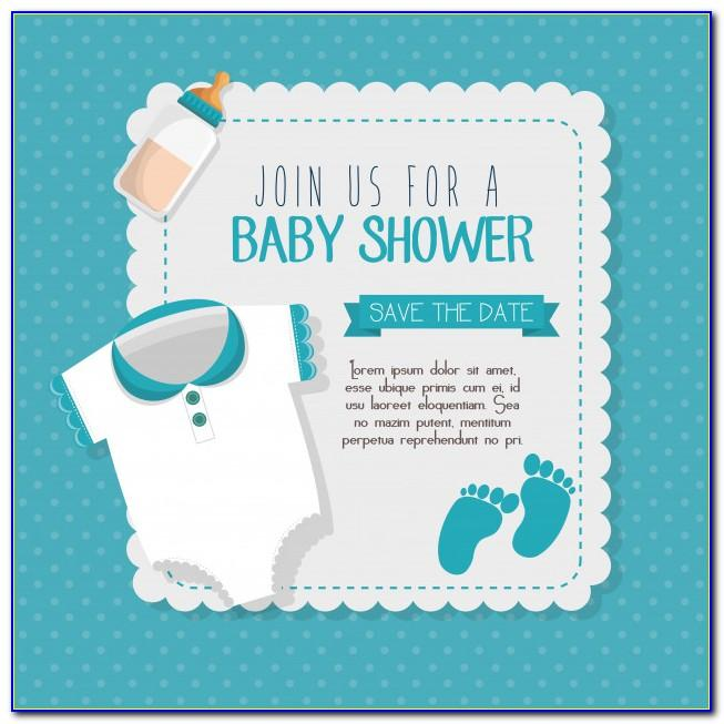 Invitation Card Design For Baby Shower