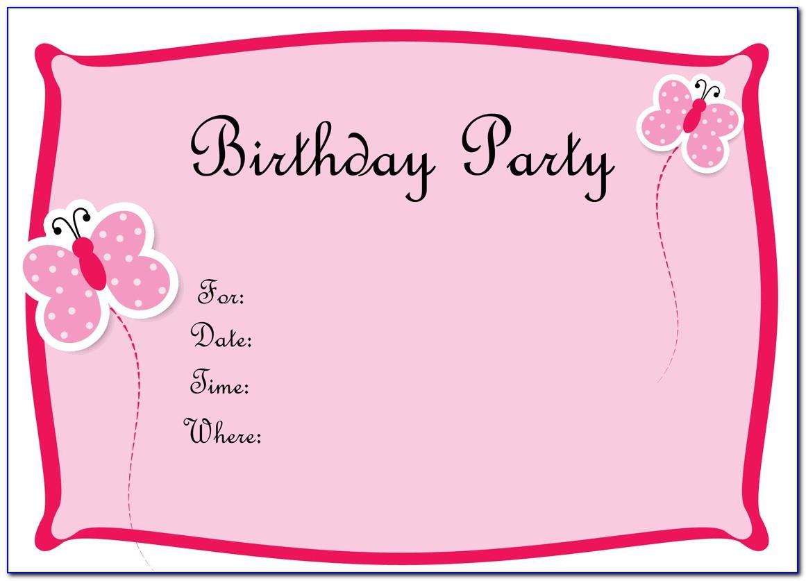 Invitation Designs For Birthday