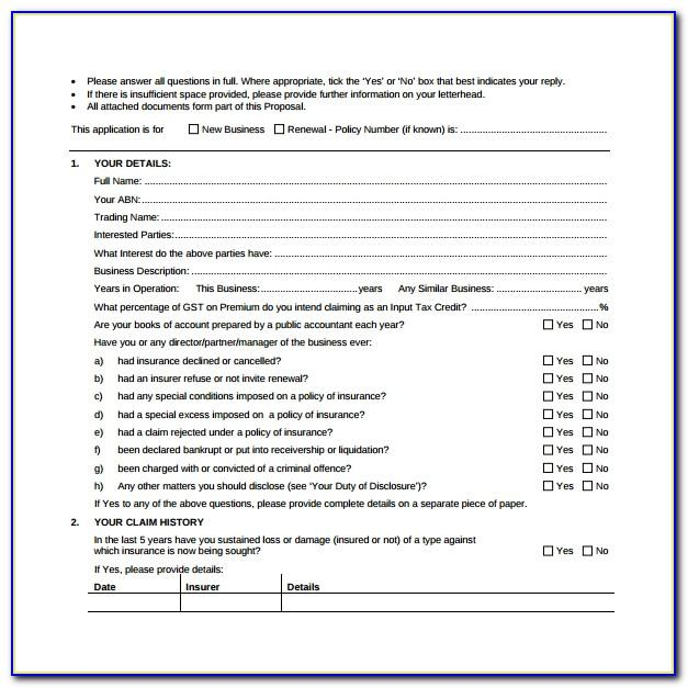 Janitorial Proposal Template Doc