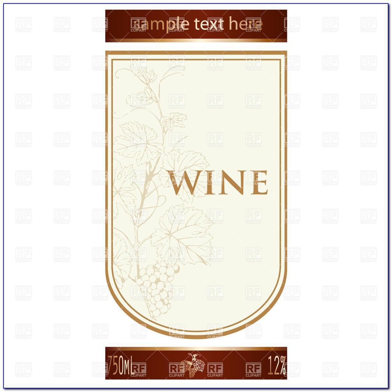Juice Bottle Label Template Free Download