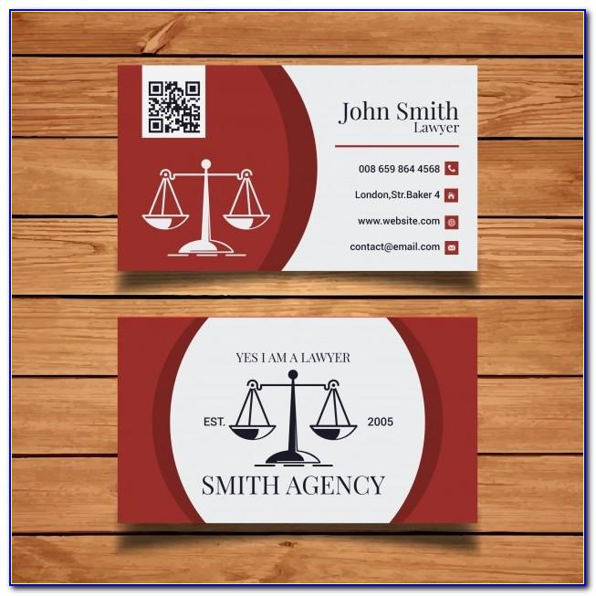 Lawyer Business Card Templates