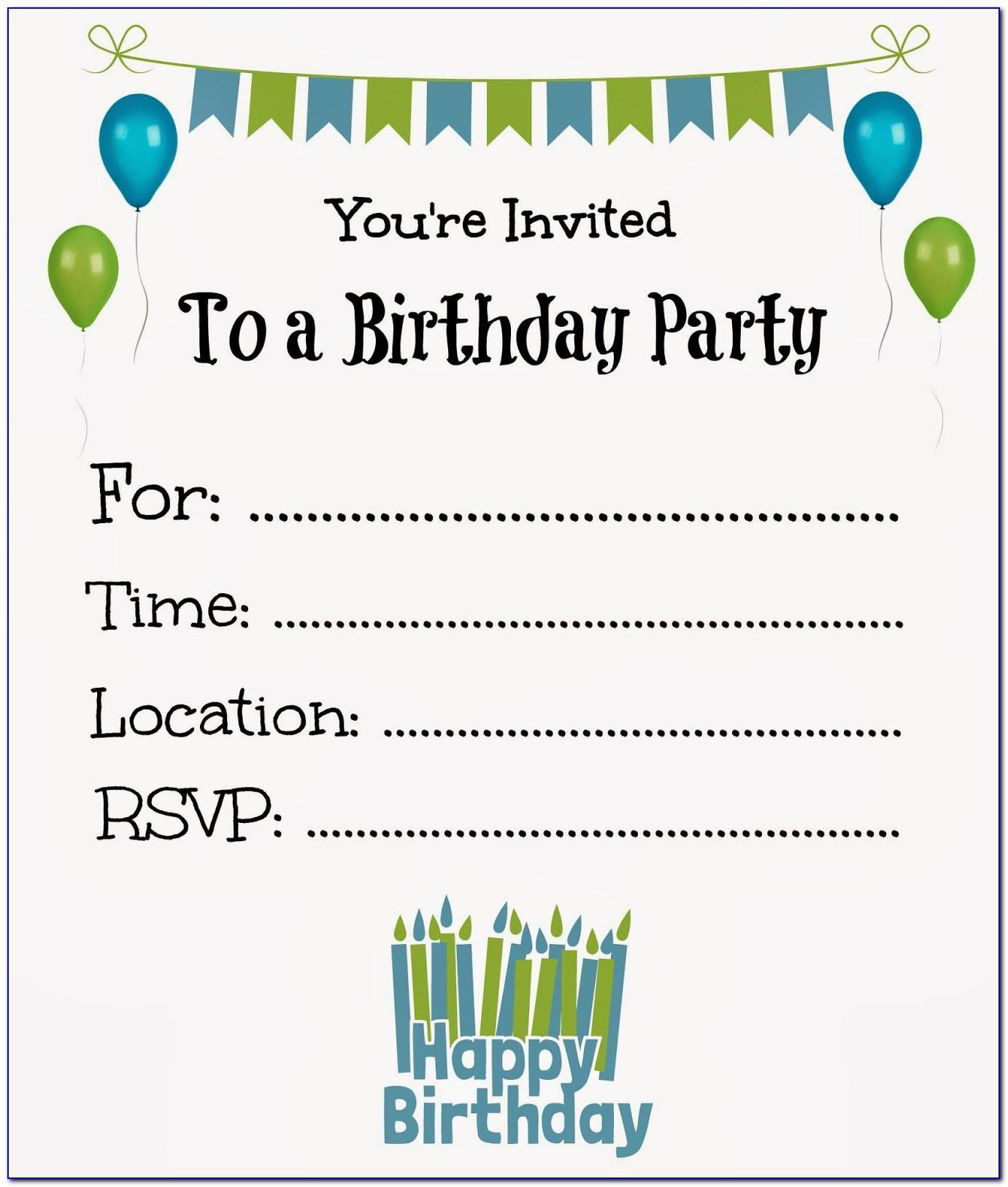 Little Boy Invitation Templates