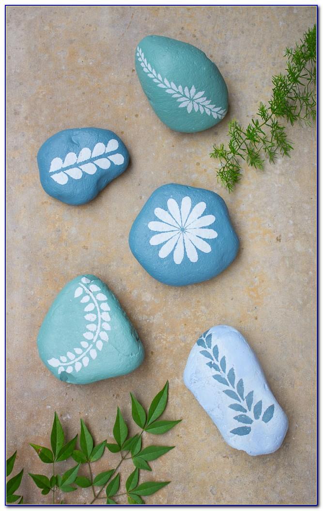 Mandala Rock Painting Templates