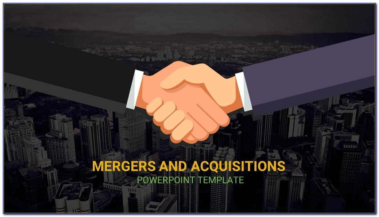 Merger And Acquisition Powerpoint Template
