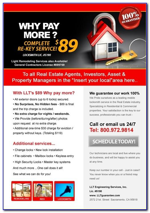 Mortgage Broker Flyer Template