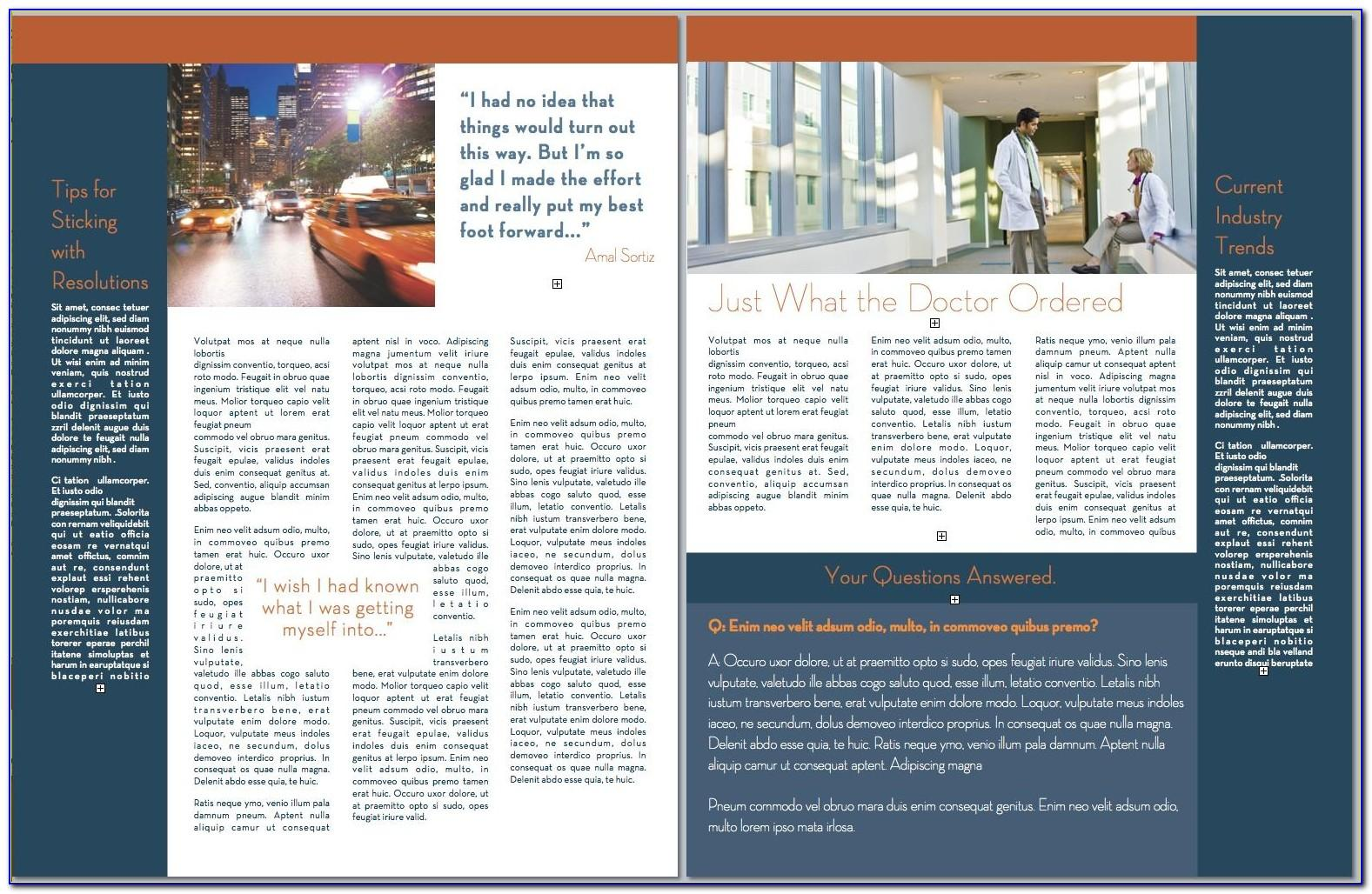 Ms Office Newsletter Templates