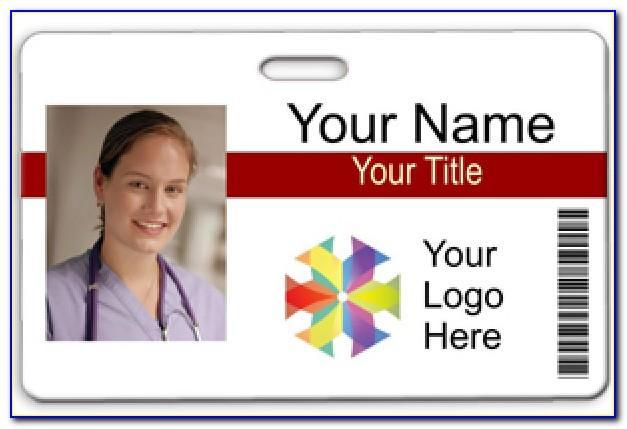Photo Id Badge Template Microsoft Word