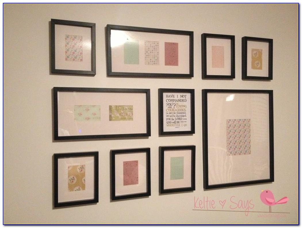 Picture Wall Collage Template