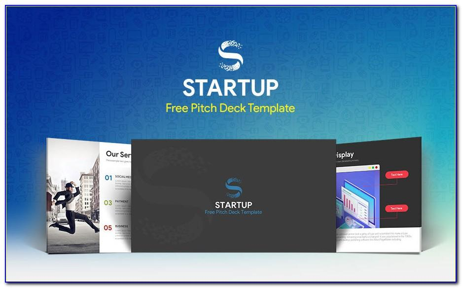 Pitch Deck Ppt Template Free