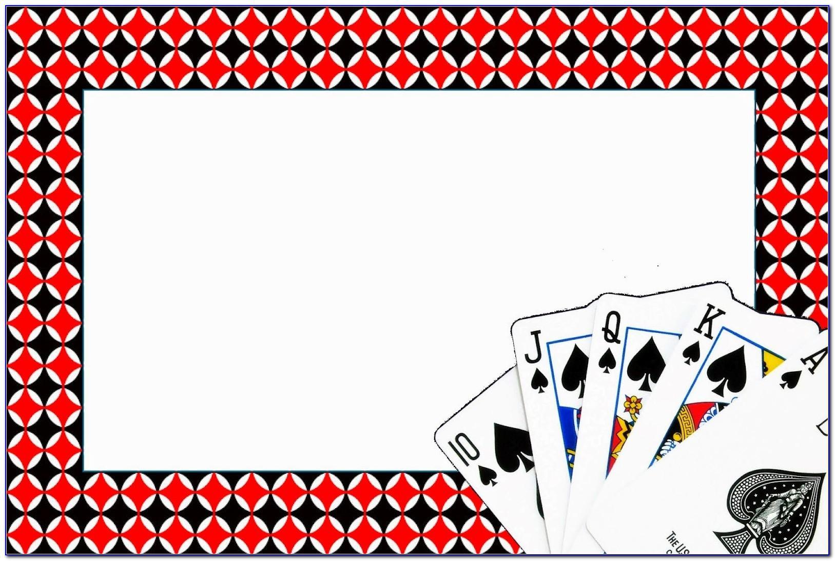 Poker Night Invitation Template