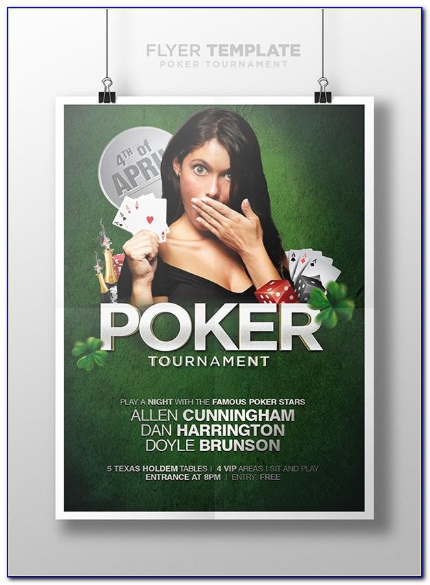 Poker Party Invite Template