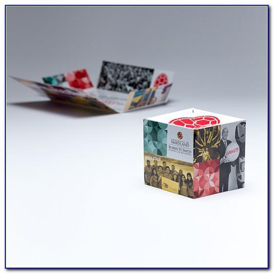 Pop Up Cube Mailer Template