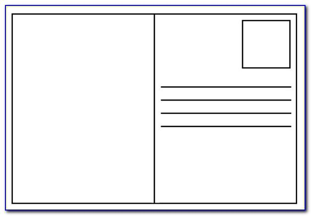 Postcards Template For Google Docs