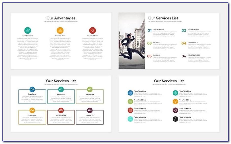 Powerpoint Pitch Deck Template Free
