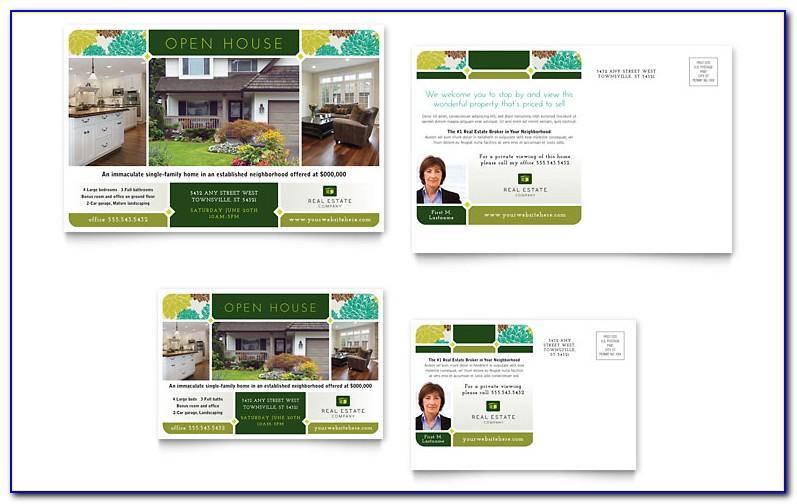 Real Estate Postcard Templates Word