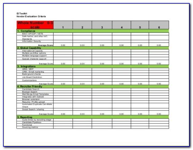 Recruiting Tracker Template Excel