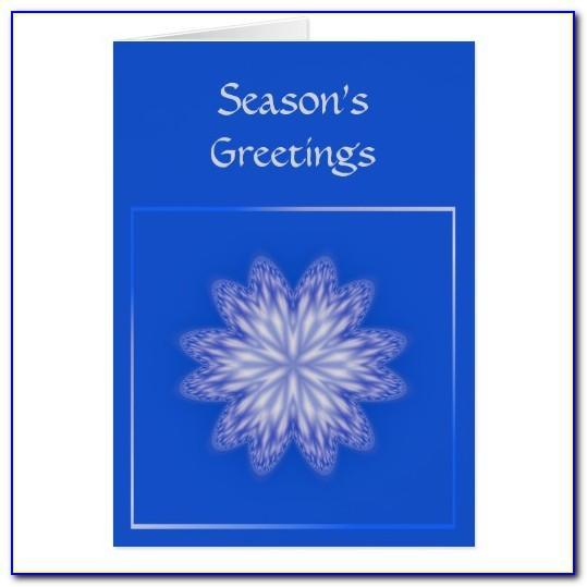 Season Greeting Cards Templates Free