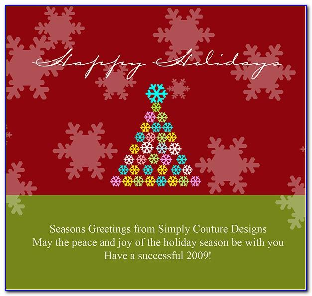 Seasons Greetings Card Designs Free