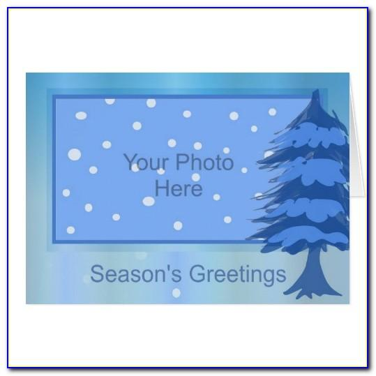 Seasons Greetings Card Templates Free