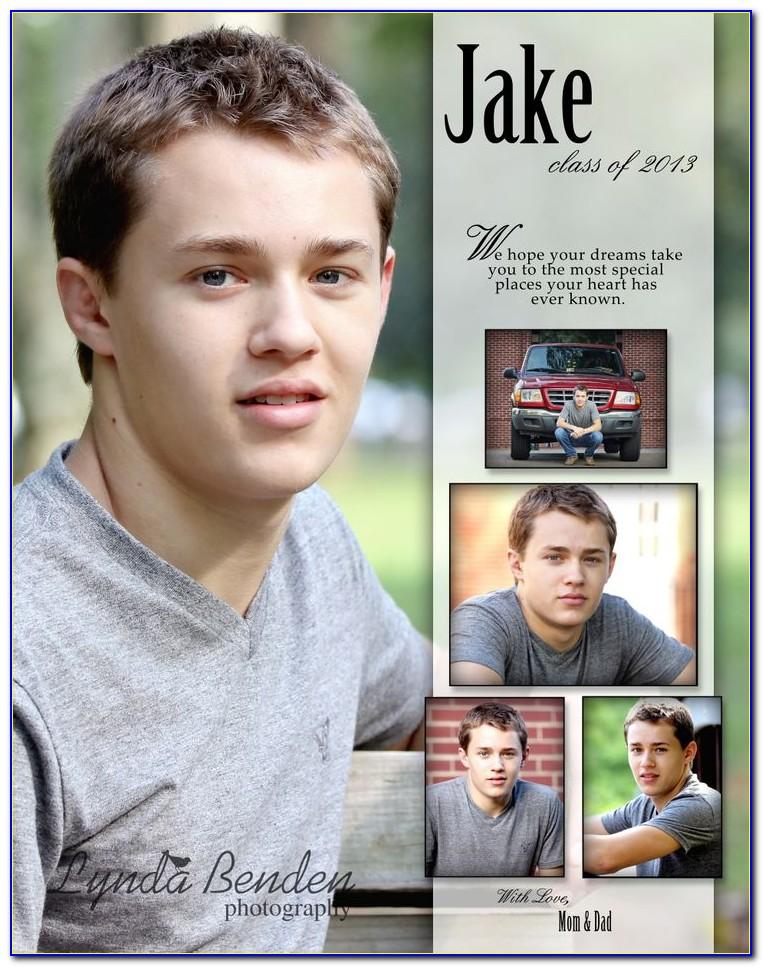 Senior Yearbook Ad Templates Free