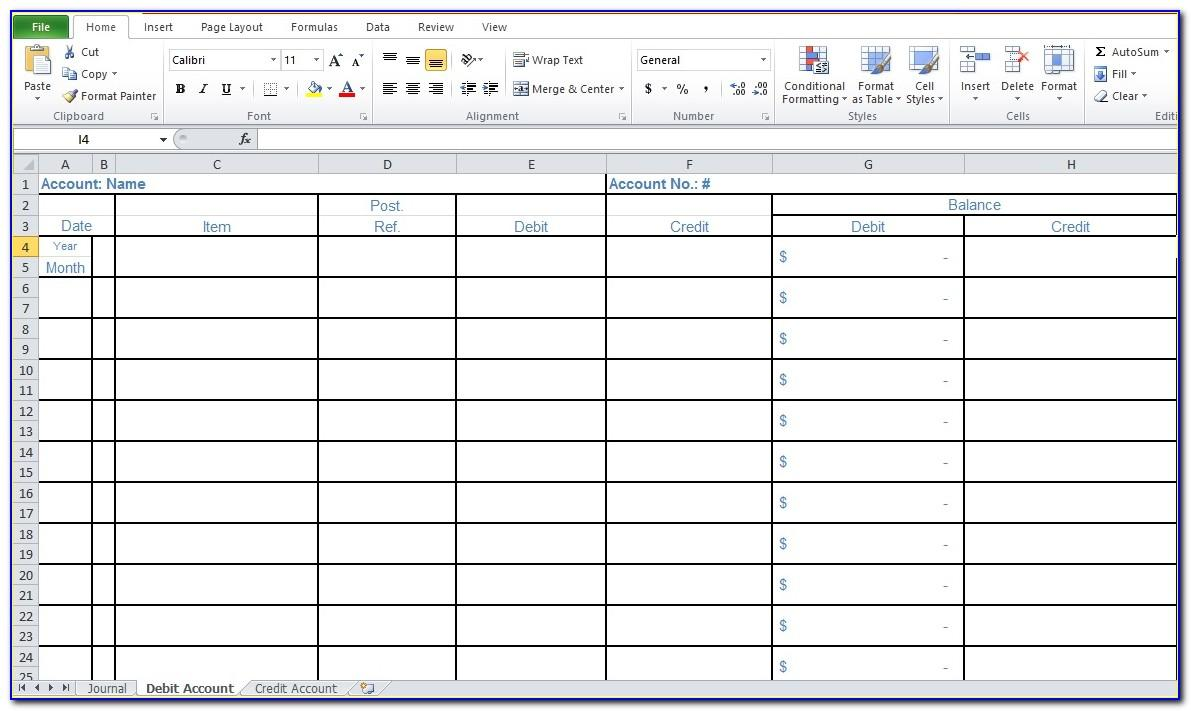 Simple Bookkeeping For Small Business Template