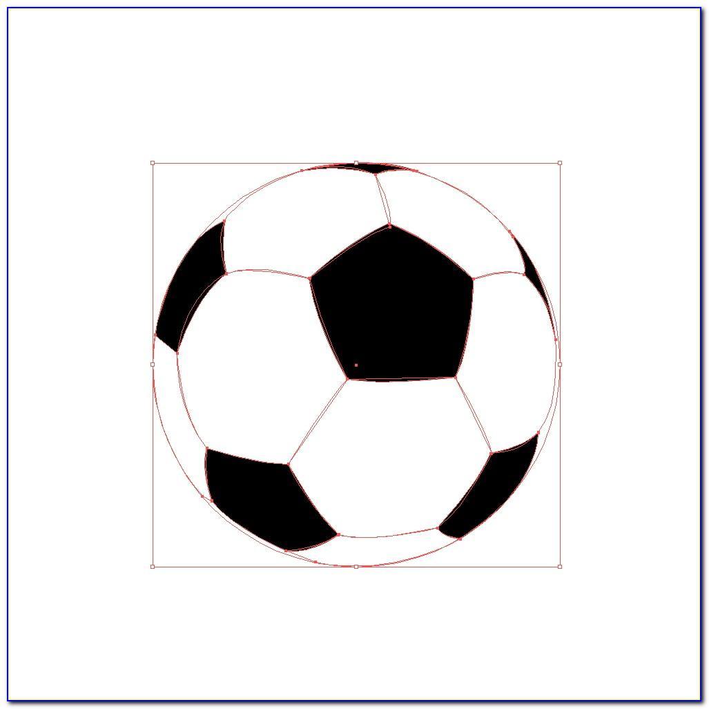 Soccer Ball Birthday Cake Template