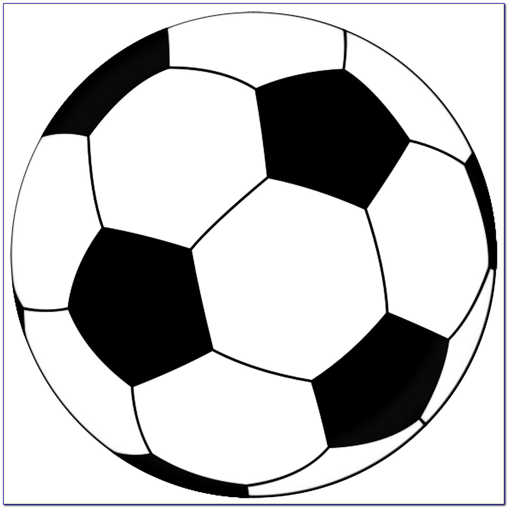 Soccer Ball Cake Pop Template