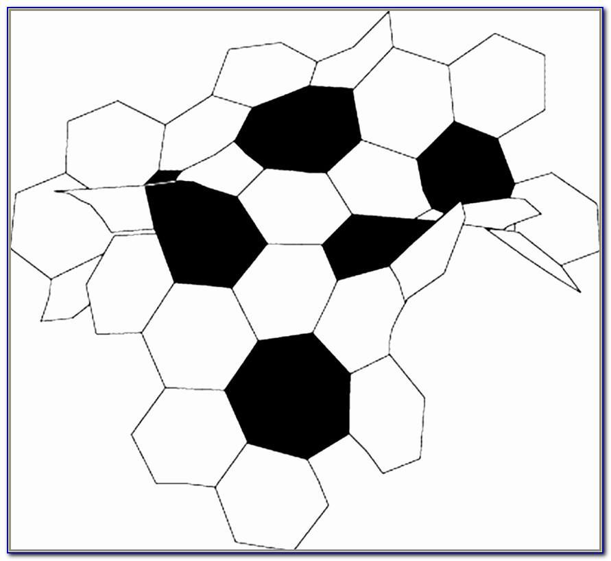 Soccer Ball Pattern Template For Cake