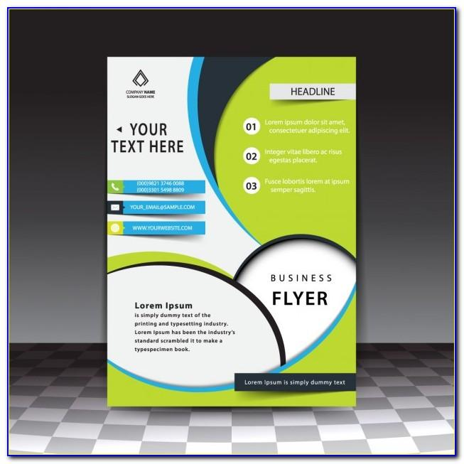 Template For Flyers In Photoshop