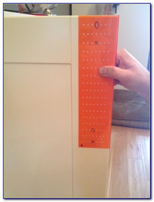 Template For Installing Cabinet Door Handles