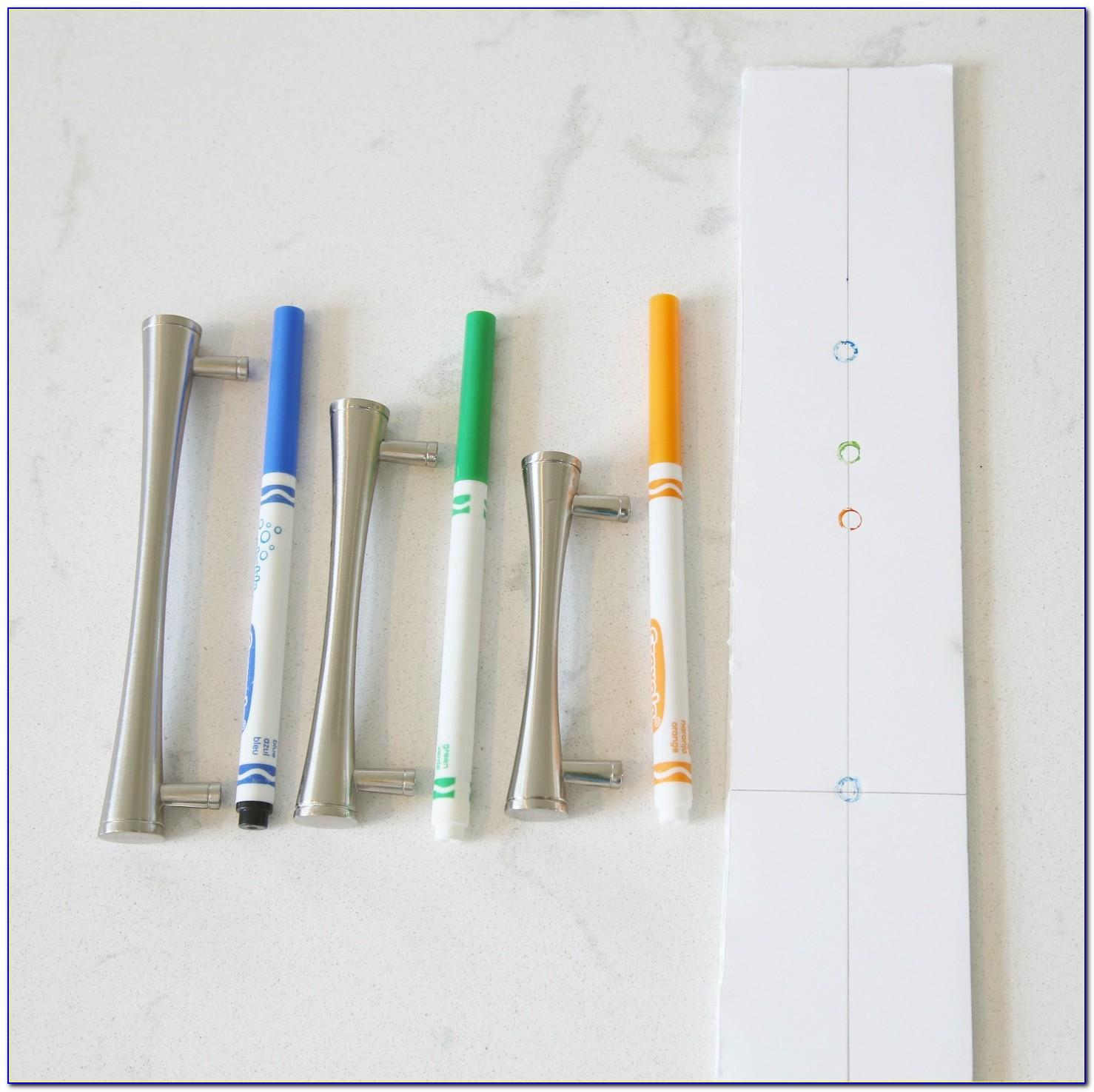 Template For Installing Cabinet Handles