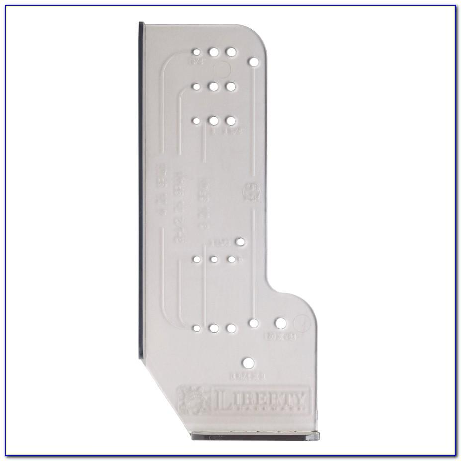 Template For Installing Kitchen Cabinet Handles