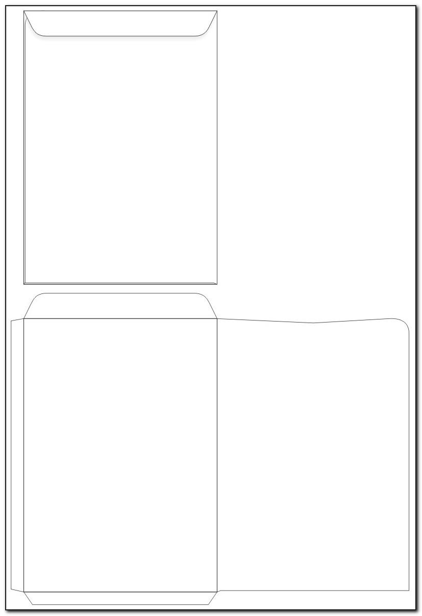 Template For Printing A9 Envelopes