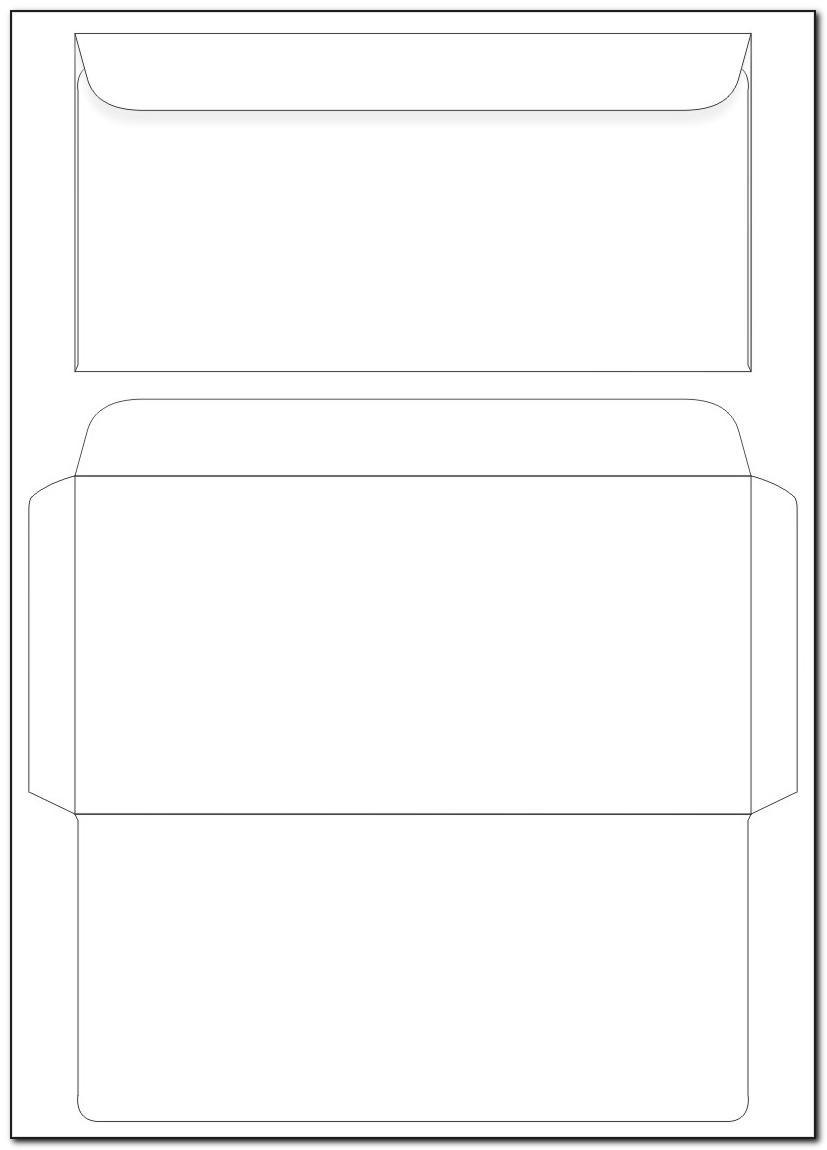 Template For Printing Addresses On Envelopes