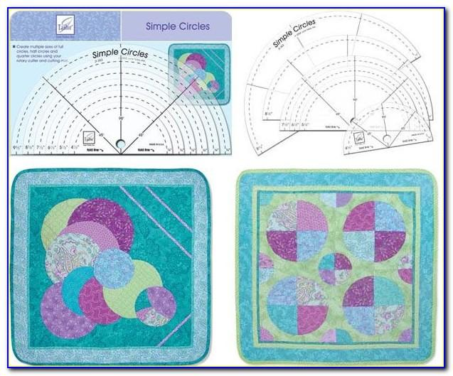 Template Rulers For Quilting