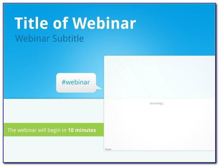 Webinar Powerpoint Template