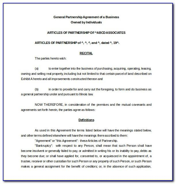 Wedding Flower Contract Template